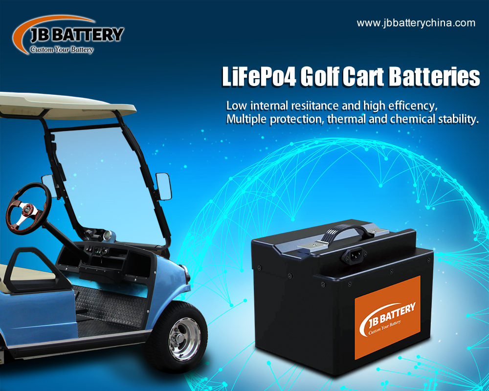 Fabricante de la batería del carro de golf LifePO4 de China (32)
